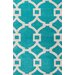 <strong>City Blue/Ivory Geometric Rug</strong> by Jaipur Rugs