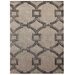City Ivory/Gray Geometric Rug