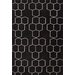 <strong>Maroc Black/Ivory Geometric Rug</strong> by Jaipur Rugs