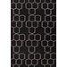 Jaipur Rugs Maroc Geometric Black Area Rug