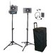 Wireless Headset, Lapel & Horn, Tripods & Case