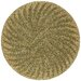 Tara Pablo Gold Palm Rug