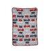 Carter's® Fire Truck Printed Coral Fleece Blanket