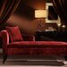 Armen Living Patterson Chenille Chaise Lounge