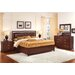 Henley Leather Panel Bedroom Collection