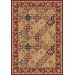 Cambridge Red Kashan Panel Rug