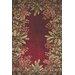 KAS Oriental Rugs Emerald Ruby Tropical Border Rug
