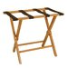 Luggage Rack with Cut-out Design in Medium Cherry