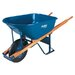 Jackson Professional Tools Jackson® Contractors Wheelbarrows - 6cu.ft. steel tray contractor wheelbarrow