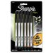Sharpie® Plastic Point Stick Permanent Water Resistant Pen, 6 Per Pack