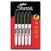 Sharpie® Permanent Markers, Fine Tip, 5/Pack
