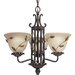 Eden 3 Light Chandelier