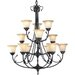 Timberbrook 12 Light Chandelier