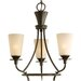 Progress Lighting Cantata 3 Light Mini Chandelier