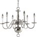 <strong>Americana 6 Light Candle Chandelier</strong> by Progress Lighting