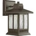 Greenridge LED Outdoor Wall Lantern in Antique Bronze