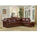 <strong>Hathaway Leather Sectional</strong> by Leather Italia U.S.A.