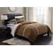 <strong>Microsuede Sherpa 3 Piece Comforter Set</strong> by PEM America
