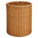 <strong>OIA</strong> Natural Round Wicker Wastebasket