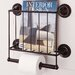 <strong>Estate Magazine Rack</strong> by OIA