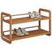 2 Tier Stackable Shoe Rack