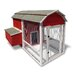 Old Barn Chicken Coop with Nesting Box