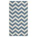 <strong>Safavieh</strong> Courtyard Blue/Beige Indoor/Outdoor Rug