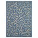 <strong>Courtyard Blue/Natural Persian Outdoor Rug</strong> by Safavieh