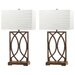 "Safavieh Jago 29.5"" H Table Lamp with Rectangular Shade (Set of 2)"