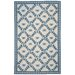 Chelsea Ivory/Blue Bumblebee Rug