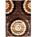 Miami Shag Brown/Multi Rug