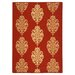 <strong>Courtyard Red/Natural Outdoor Rug</strong> by Safavieh