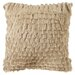 Cali Shag Handloom Polyester Decorative Pillow