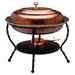 <strong>Old Dutch International</strong> Oval Antique Copper Chafing Dish