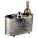 Old Dutch International Antique Embossed Pewter Two Bottle Wine Chiller