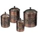 Heritage 4 Piece Canister Set