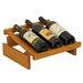 <strong>Dakota 3 Bottle Wine Rack</strong> by Wooden Mallet