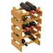 Wooden Mallet Dakota 15 Bottle Wine Rack