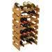 <strong>Wooden Mallet</strong> Dakota 28 Bottle Wine Rack