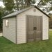 "<strong>10'3.5"" W x 12'9.5"" D Plastic Storage Shed</strong> by Lifetime"