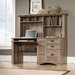 <strong>Harbor View Computer Desk with Hutch</strong> by Sauder
