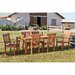 Dabney 7 Piece Dining Set with Side and Arm Chairs