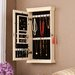 Wildon Home ® Waverly Wall Mounted Jewelry Armoire with Mirror