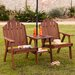 <strong>Harper Two - Person Bench with Attached Table</strong> by Wildon Home ®
