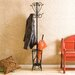 Bell Matte Black Coat Rack and Umbrella Stand