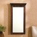 Franklin Wall Mounted Jewelry Armoire with Mirror