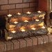 Kirkley Tealight Fireplace Log
