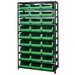 Quantum Storage 9 Shelf Giant Open Hopper Magnum Storage Unit (Complete Package)