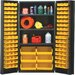 36&quot; Wide Welded Storage Cabinet with 102 Ultra Bins