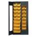"Clear View 78"" H x 36"" W x 18"" D Storage Cabinet by Quantum Storage"